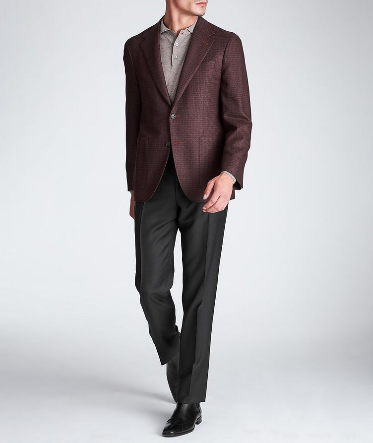 Contemporary Fit Wool-Silk Sports Jacket image 4