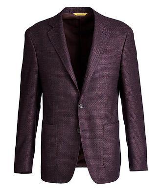 Canali Kei Wool, Silk, and Cashmere Sports Jacket