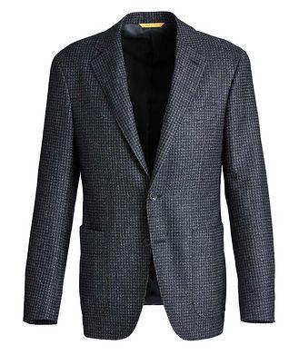 Canali Kei Checkered Sports Jacket