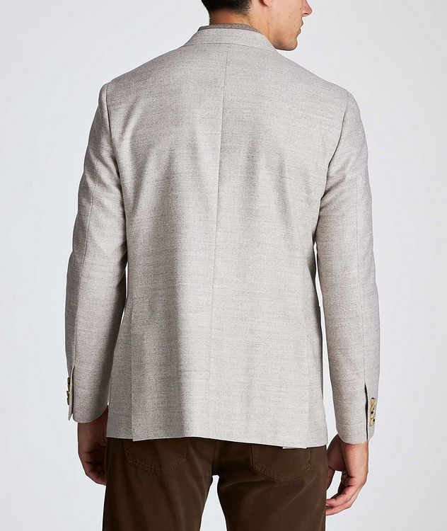 Contemporary Fit Herringbone Sports Jacket picture 3