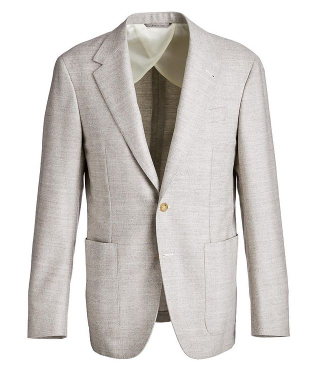 Contemporary Fit Herringbone Sports Jacket picture 1