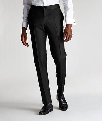 Canali Wool Tuxedo Pants