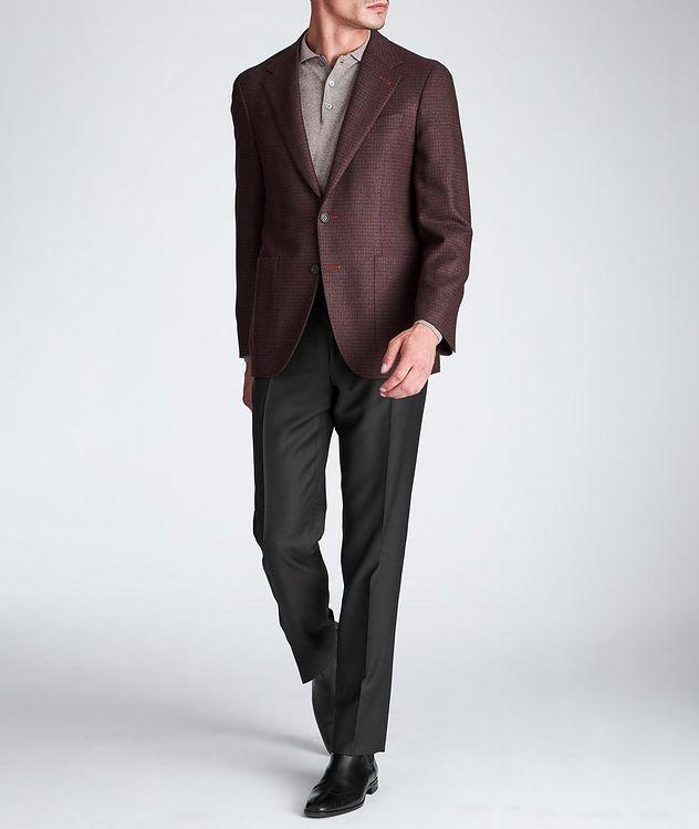 Pantalon habillé en laine de coupe amincie picture 5