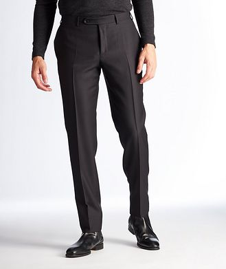 Canali Slim Fit Houndstooth Dress Pants