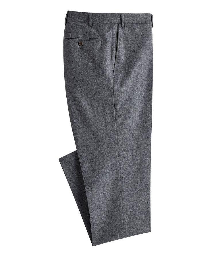 Slim Fit Wool Dress Pants image 0