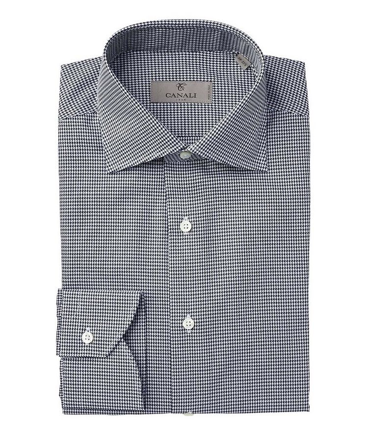Contemporary Fit Houndstooth Dress Shirt image 0