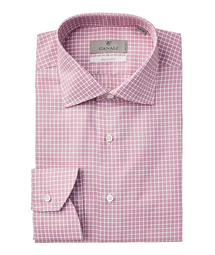 Impeccabile Checked Dress Shirt image 0