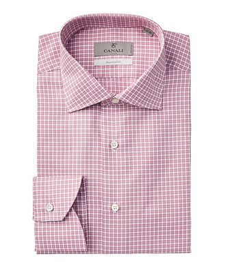 Canali Impeccabile Checked Dress Shirt