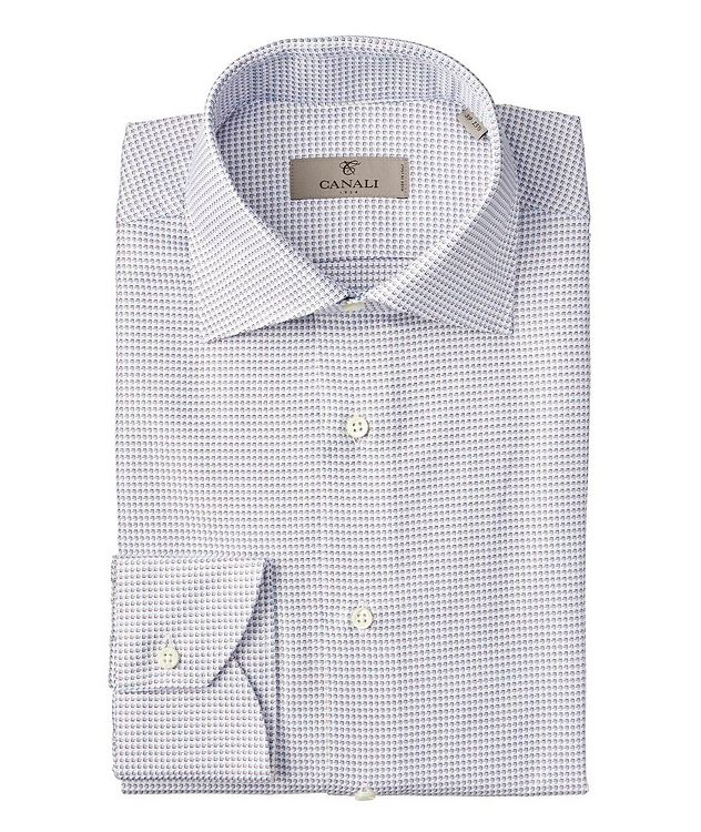 Contemporary Fit Neat-Printed Dress Shirt picture 1
