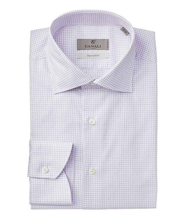 Impeccabile Grid-Printed Dress Shirt picture 1