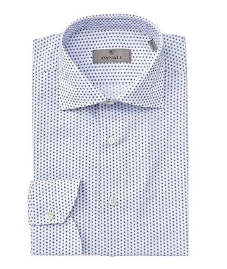 Canali Contemporary Fit Cotton Dress Shirt