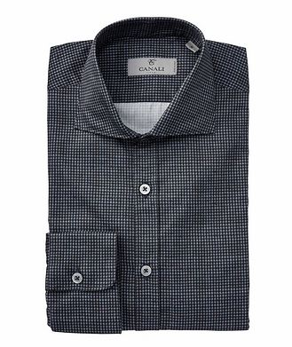 Canali Nailhead Cotton Shirt