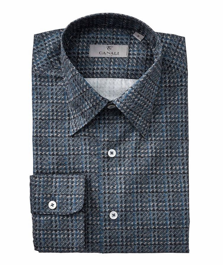 Houndstooth Cotton Shirt image 0