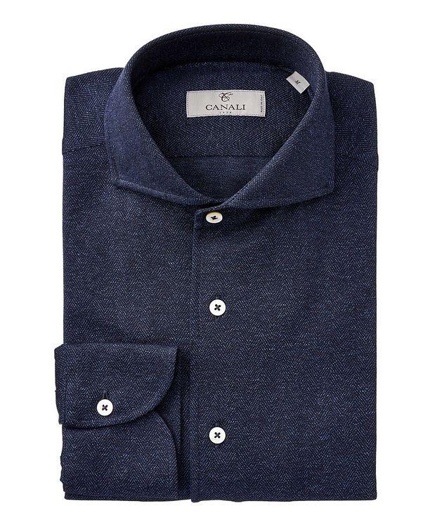 Herringbone Cotton Shirt picture 1