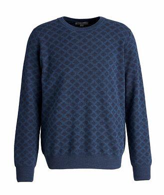 Canali Printed Wool Sweater