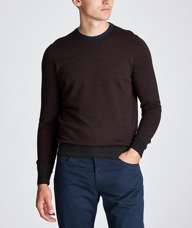 Knit Wool Sweater picture 2