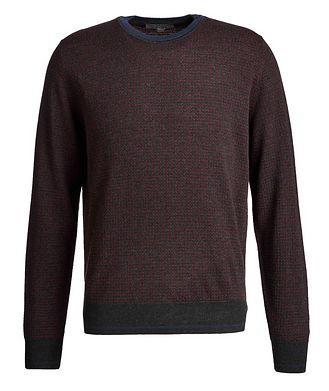 Canali Knit Wool Sweater