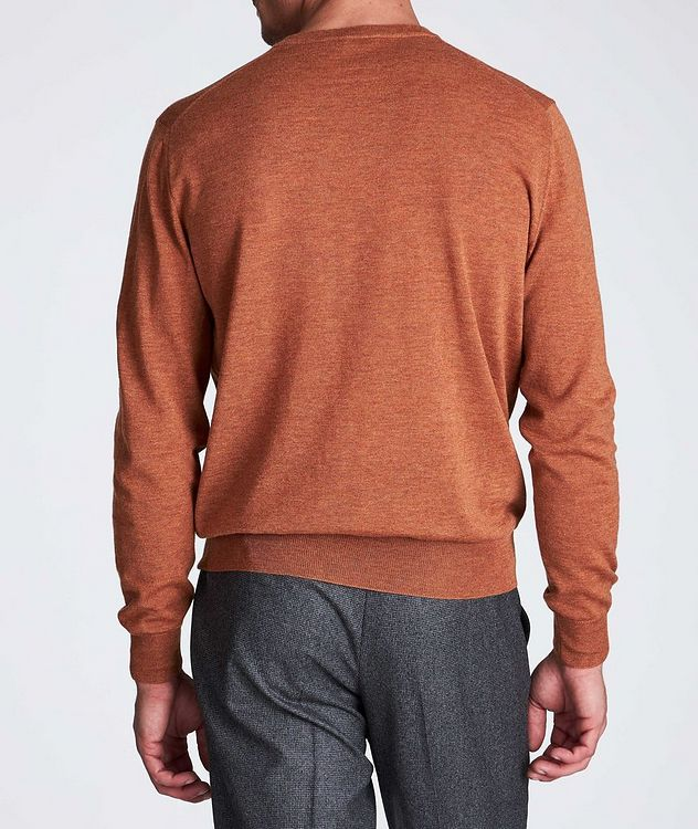 V-Neck Wool Sweater picture 3