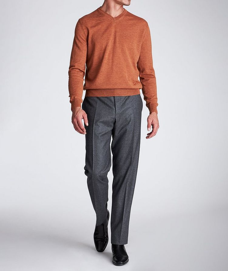 V-Neck Wool Sweater image 4