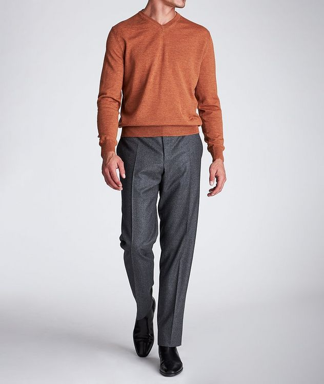 V-Neck Wool Sweater picture 5