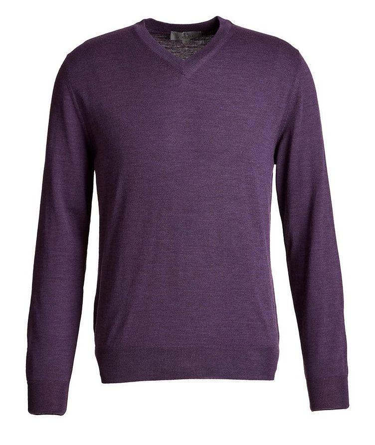 V-Neck Wool Sweater image 0