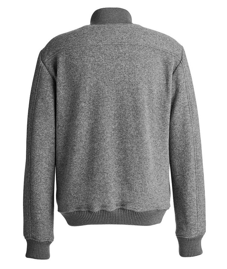 Blouson en laine et cachemire image 1