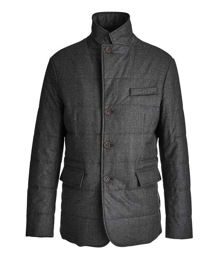 Water-Repellent Wool Coat image 0