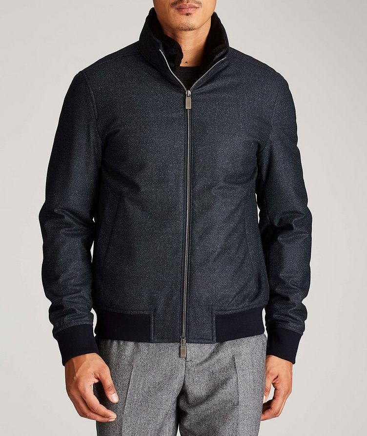 Wool Bomber Jacket image 1
