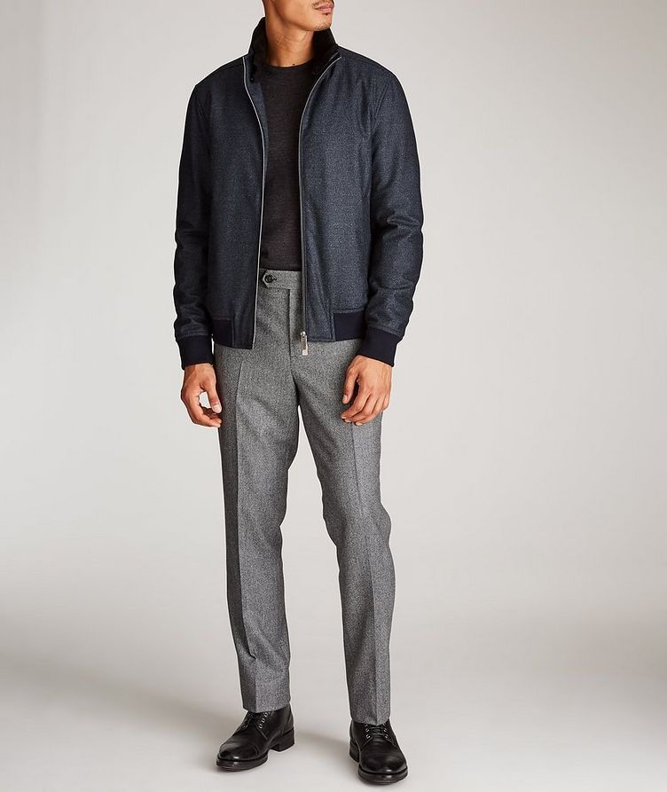 Wool Bomber Jacket image 4