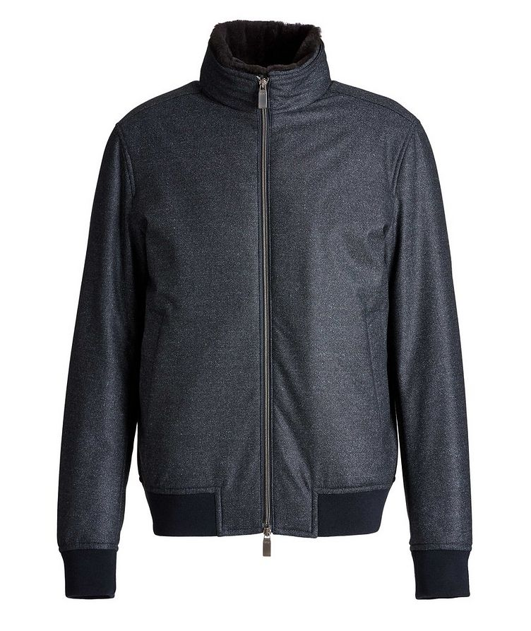 Wool Bomber Jacket image 0