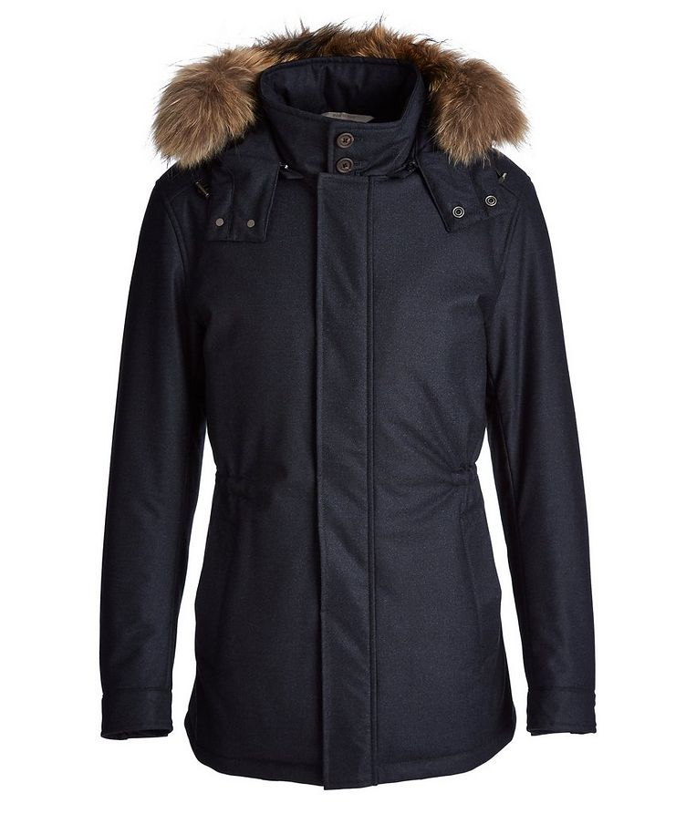 Waterproof Fur-Trimmed Coat image 0