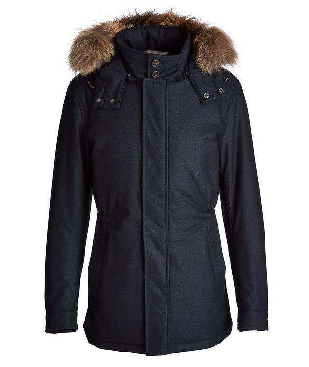 Waterproof Fur-Trimmed Coat picture 1