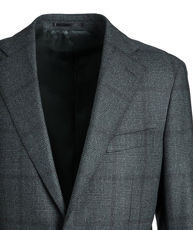 Glen-Checked Dream Tweed Suit picture 3
