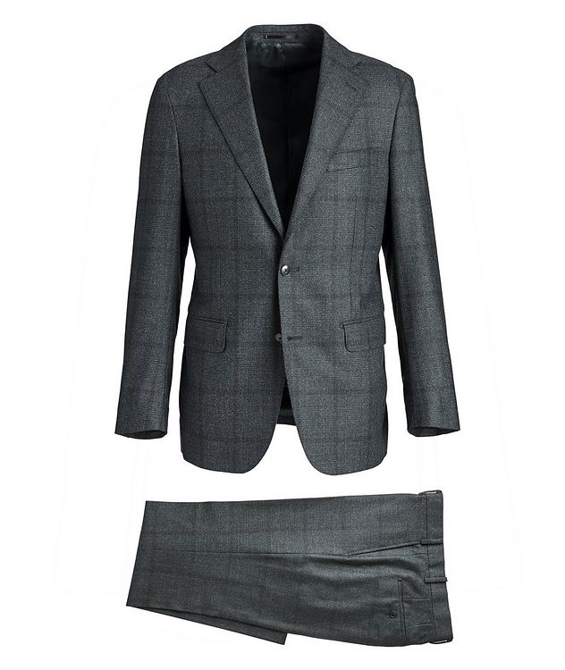 Glen-Checked Dream Tweed Suit picture 1