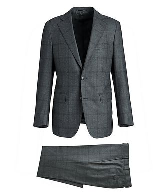 Atelier Munro Glen-Checked Dream Tweed Suit
