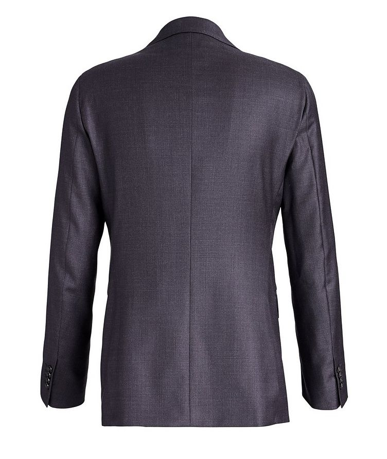 Crosshatched Wool Suit image 2