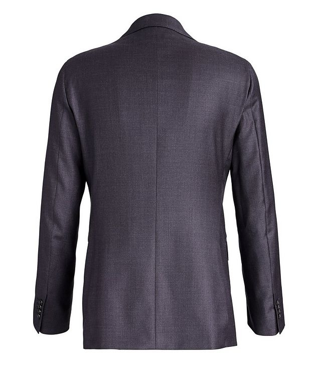 Crosshatched Wool Suit picture 3
