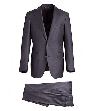 Atelier Munro Crosshatched Wool Suit