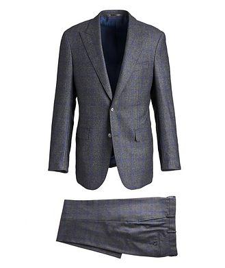 Atelier Munro Windowpane Zelander Merino Wool Suit
