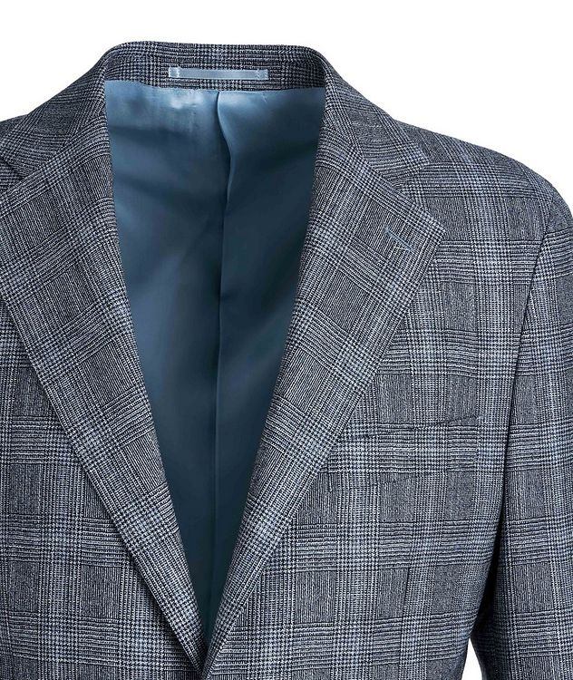 Checked Merino Wool Suit picture 3
