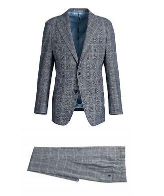 Atelier Munro Checked Merino Wool Suit