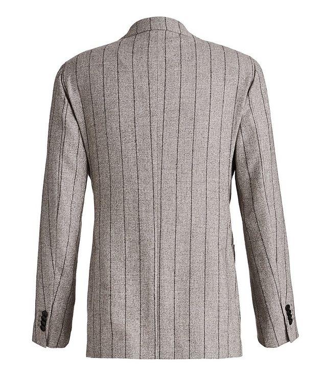 Pinstriped Baby Alpaca-Linen Suit picture 2