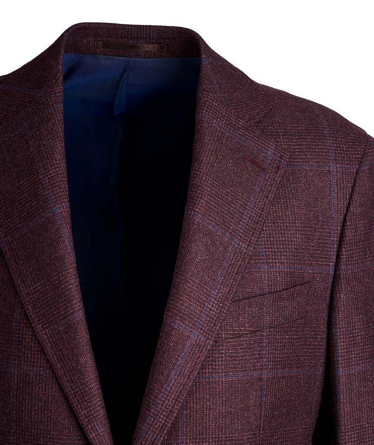 Windowpane Wool Suit image 1