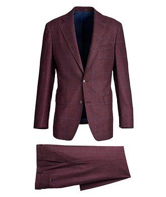 Atelier Munro Windowpane Wool Suit