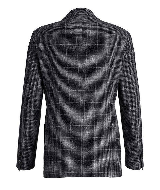 Checked Wool-Linen Sports Jacket picture 2