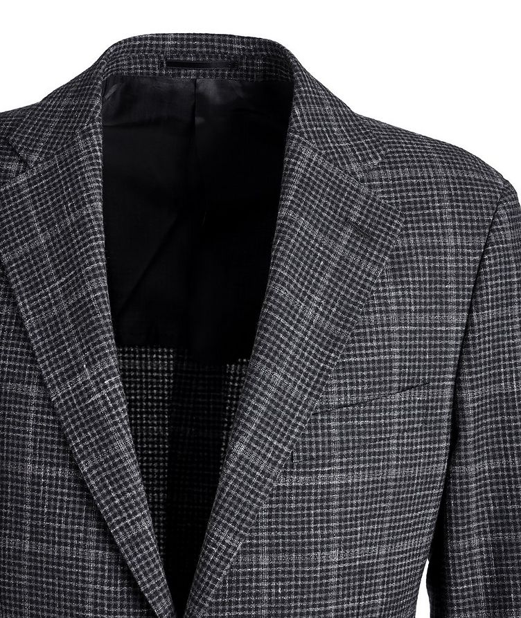 Checked Wool-Linen Sports Jacket image 2