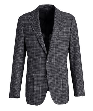 Atelier Munro Checked Wool-Linen Sports Jacket