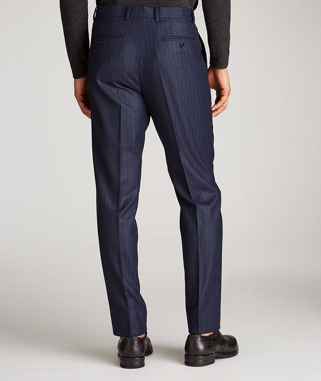 Striped Stretch-Wool Dress Pants picture 3