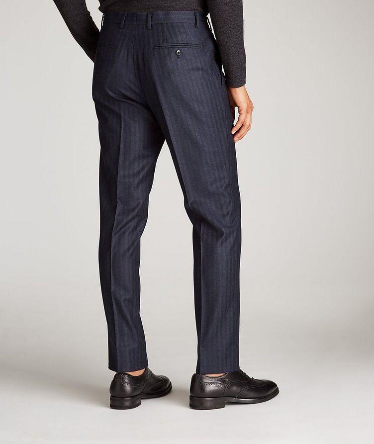 Striped Stretch-Wool Dress Pants image 2