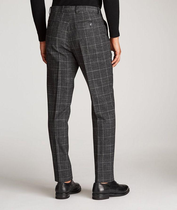 Checked Wool-Linen Dress Pants image 2
